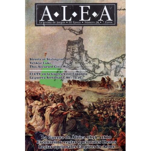 Revista Alea nº 28: Castillejos y Tetuán