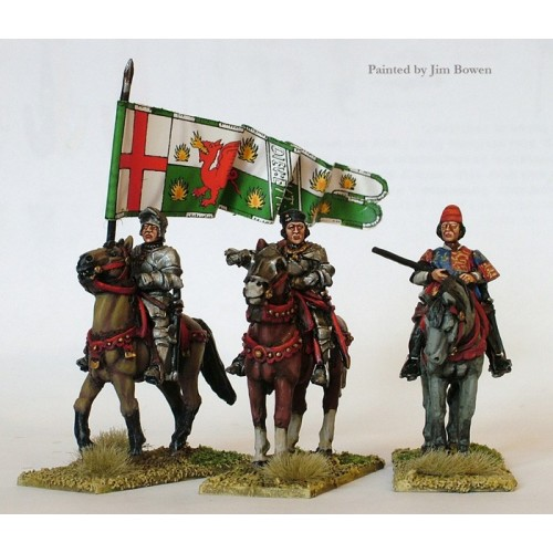 Lancastrian mounted high command ( Henry VII