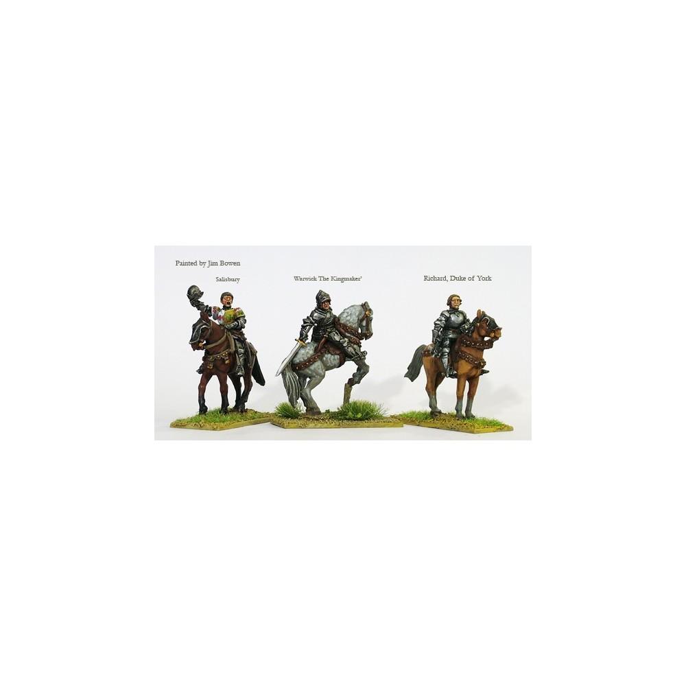 "Mounted high command (Warwick ""The Kingmaker"""