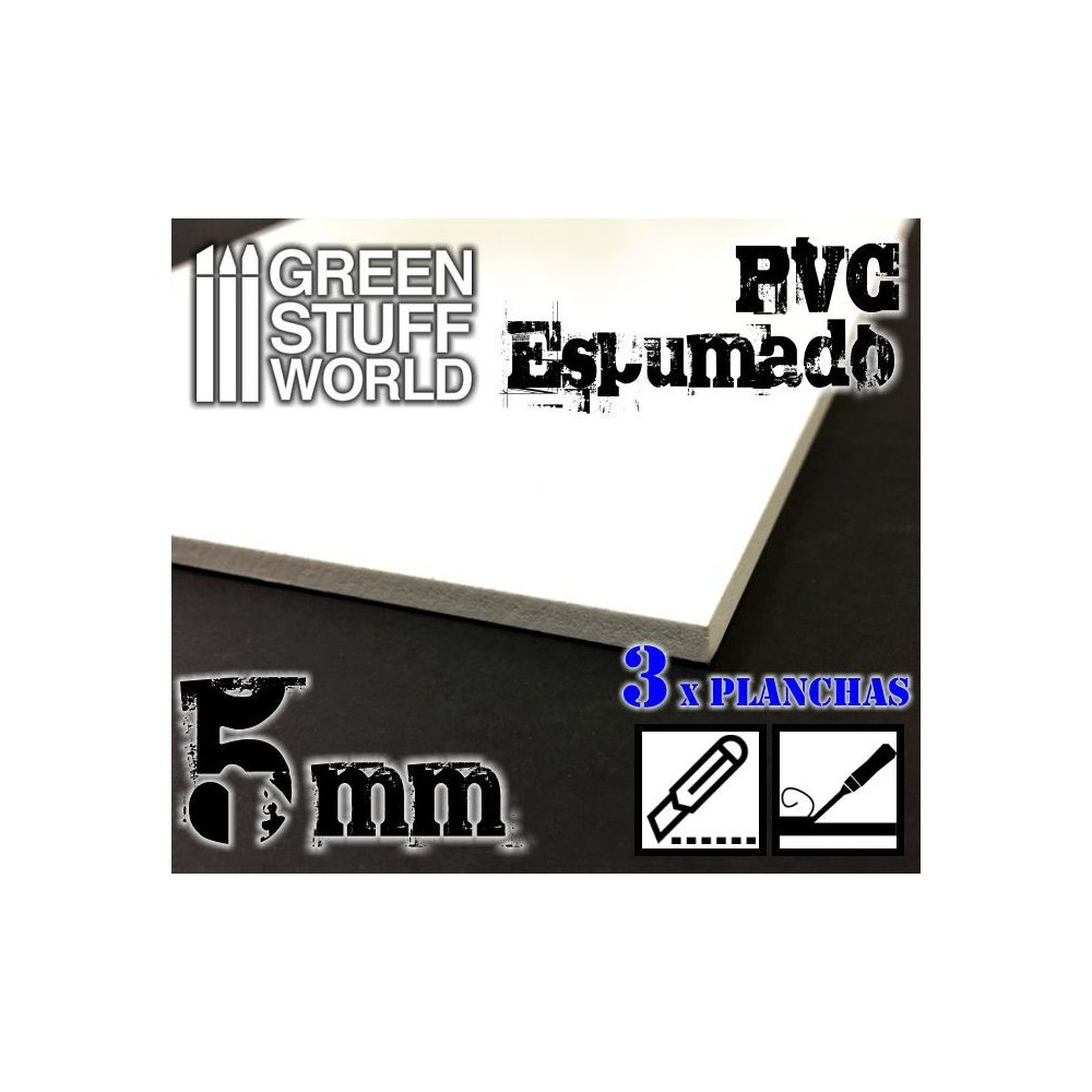 PVC Espumado 5 mm