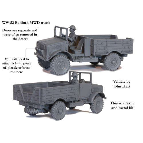 Bedford MWD truck