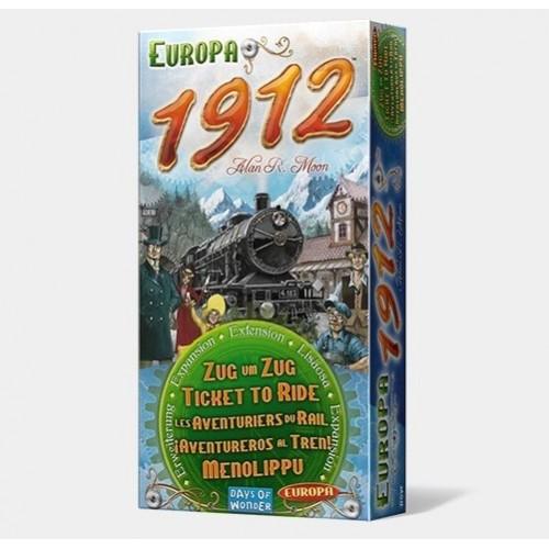 Aventureros al Tren: Europa 1912