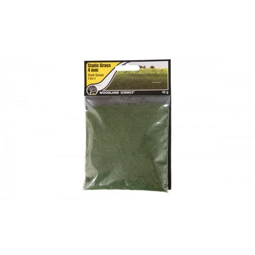 Woodland 4mm Flocado Verde Oscuro