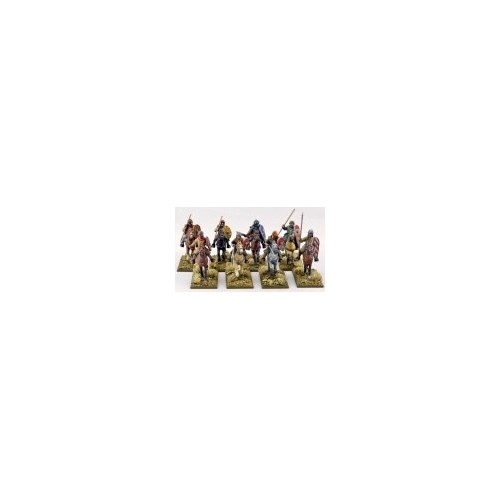Mounted Crusader Sergeants (Warriors)