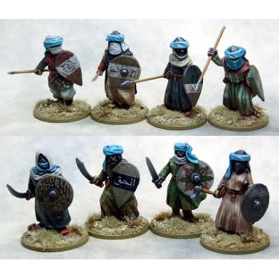 Mutatawwi'a Chosen (Warriors) on foot