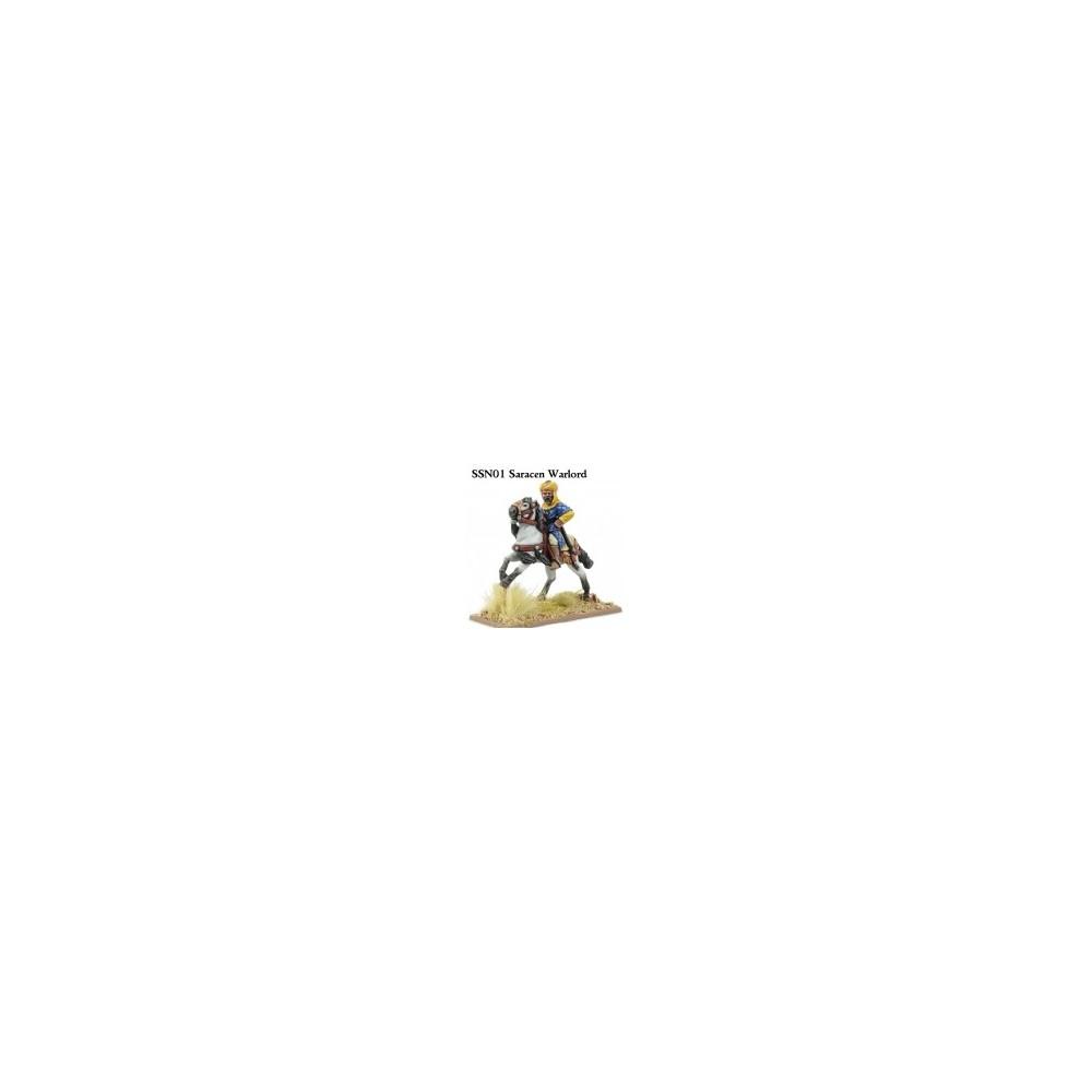 Saracen Mounted Warlord (unarmoured)