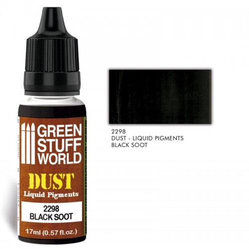Pigmentos Liquidos BLACK SOOT