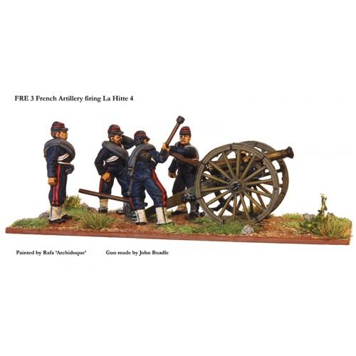French artillery firing La Hitte 4