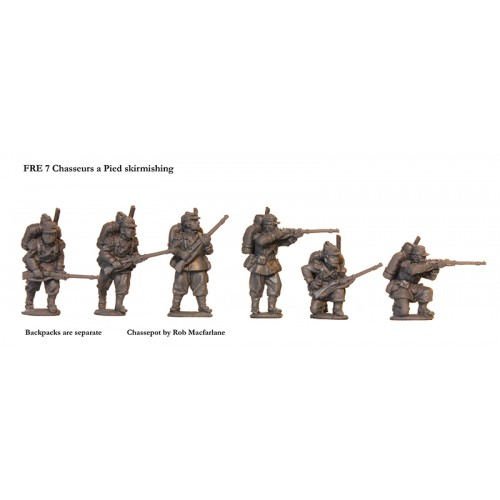 French Chasseurs a Pied skirmishing