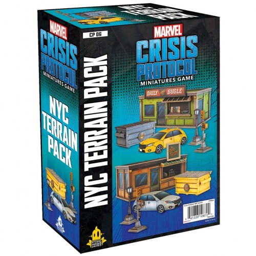 NYC Terrain pack Marvel: Crisis Protocol