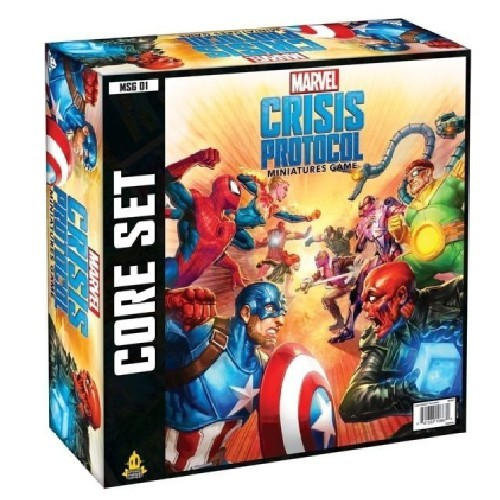 Marvel Crisis Protocol Miniatures Game Core-INGLÉS