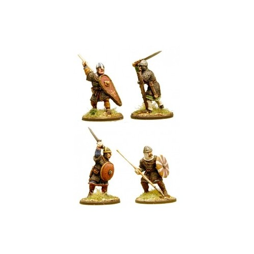 Anglo-Danish Huscarls (spears) (Hearthguard)