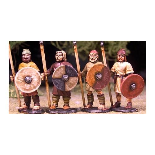 Anglo-Saxon Geburs ñ Spears & Shield (Levy)
