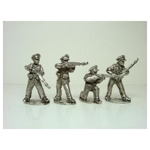 Assault Guards Rifles Firing
