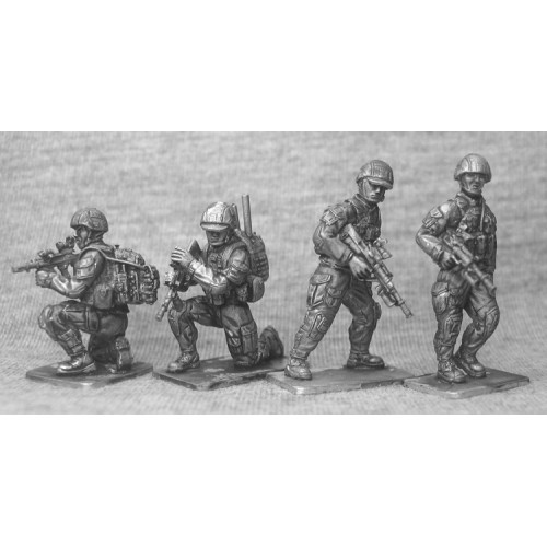 Infanteria parados