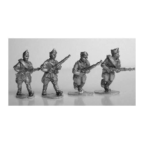 Falangista rifles advancing
