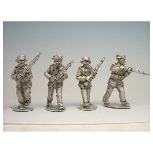 Guardia Civil Rifles Advancing