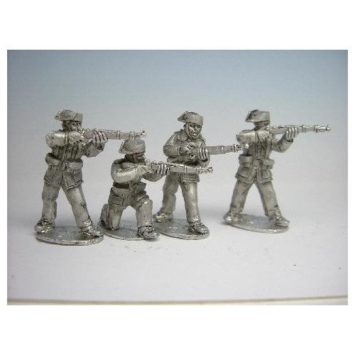 Guardia Civil Rifles Firing Loading