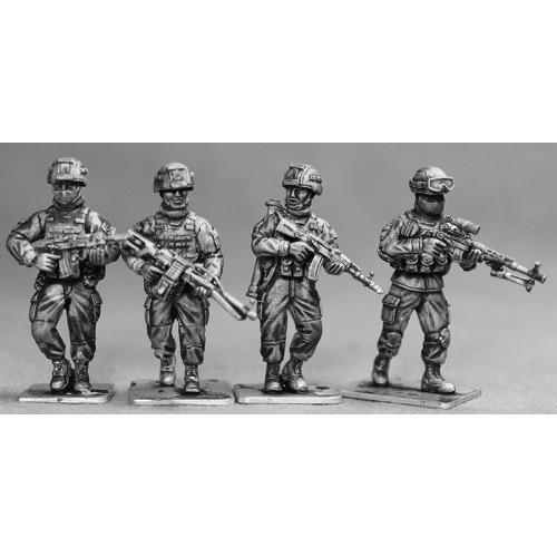 Infanteria andando
