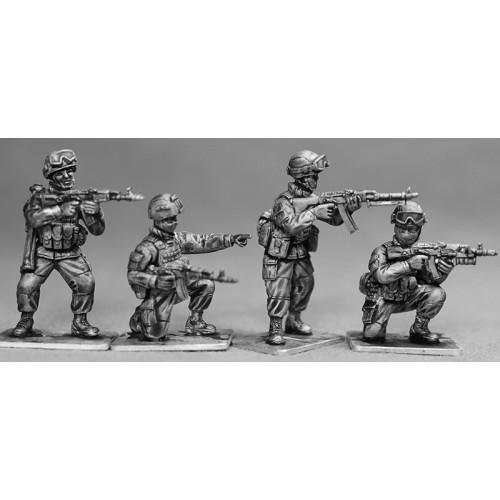 Infanteria disparando