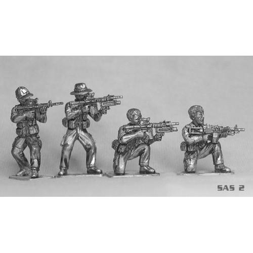 Four modern SAS (Afghanistan)