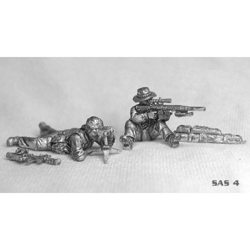 Modern SAS (Afghanistan) sniper team. Includes rifle drag-bag and assorted equipmenTÉ