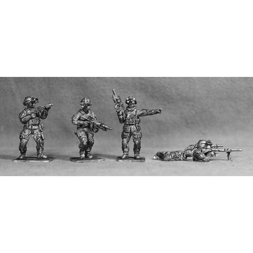 Four modern SAS