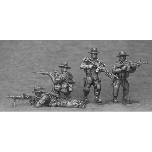Infanteria Apoyo con sombrero