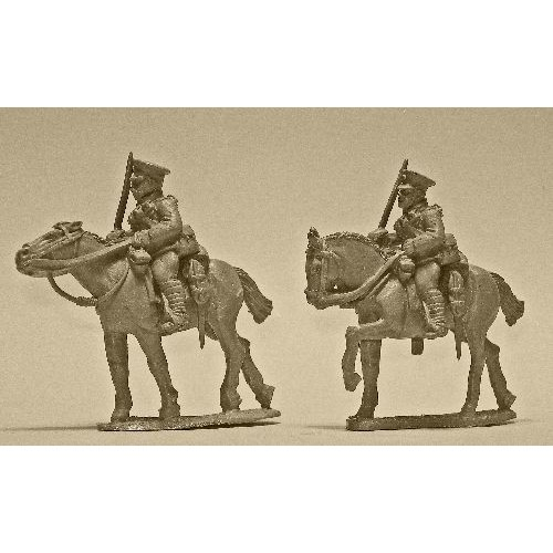British Cavalry with Swords (2 figures)