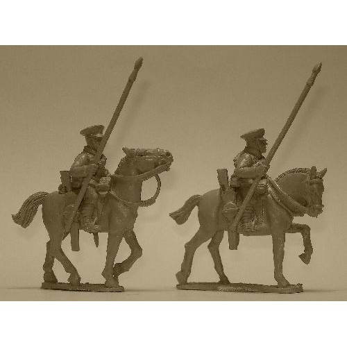 British Cavalry with Lances (2 figures)