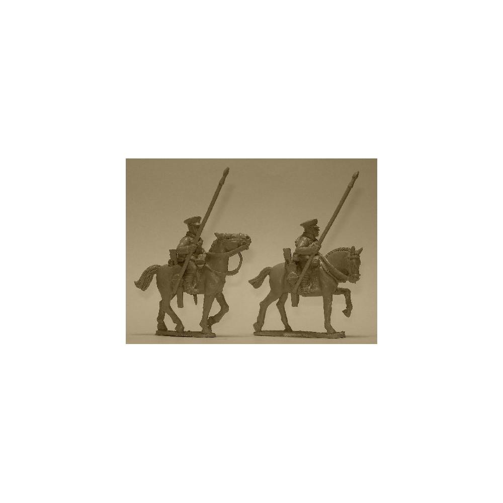British Cavalry with Lances (2 figures)