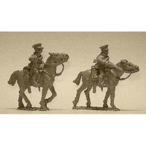 British Cavalry with Rifles (2 figures)