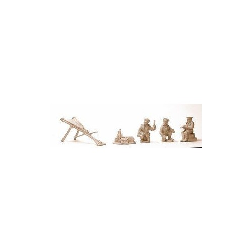 Leach Trench Catapult and 3 Crew