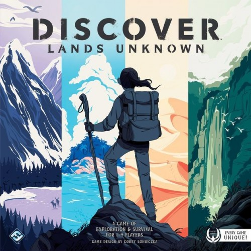 Discover:Lands Unknown