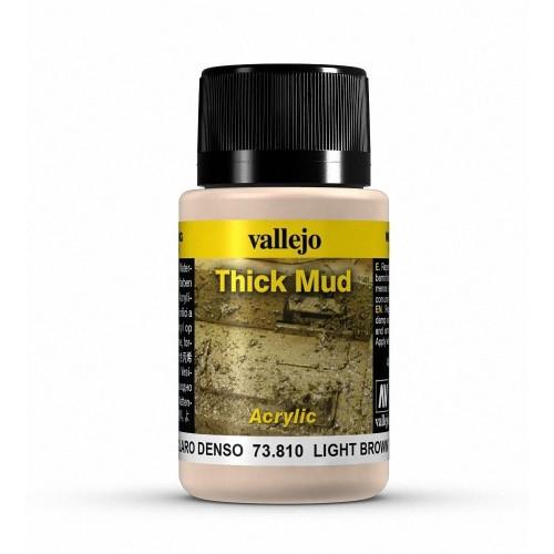 Barro claro denso light brown thick mud 40ml