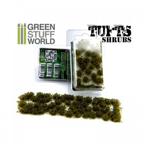 Matas Arbustos - Autoadhesivas - 6mm - Verde Oscuro