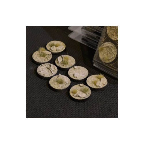 Arid Steppe Bases Round 32mm (x8)