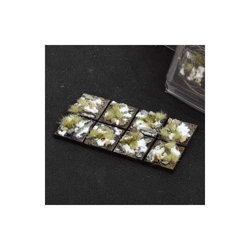 Winter Bases Square 25mm (x8)