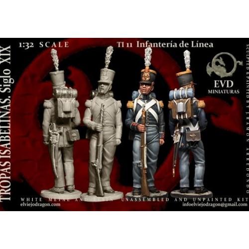 Infanteria de Linea 1833