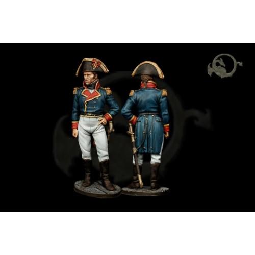 Teniente de fragata. 1802