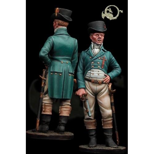 Capitán Alarma Gallega. 1810