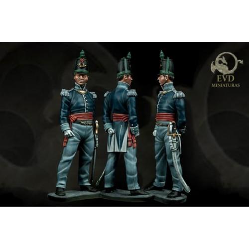 Of. Infantería Ligera. 1812