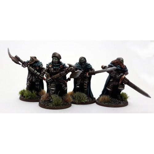 Undead Legions Hearthguard /w Great Weapons (4)