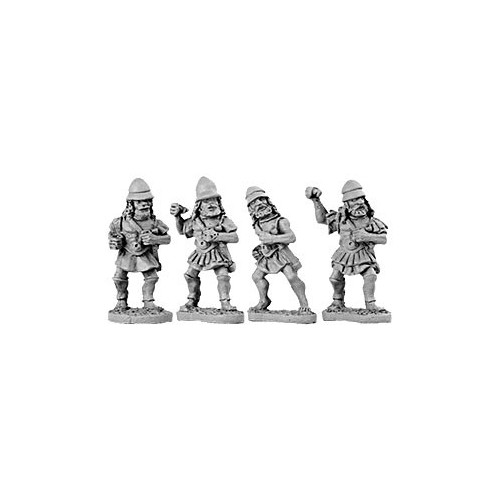 Later Spartan Hoplites in Metal Cuirass