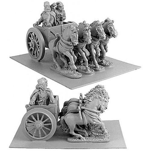 Persian General in FourHorsed Chariot