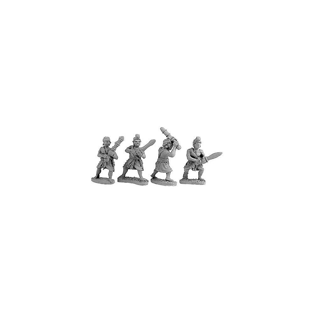 Indian Guardsmen & Clubmen