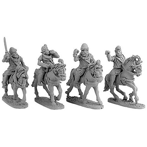 Indian Cavalry Command with Standards & Parasols