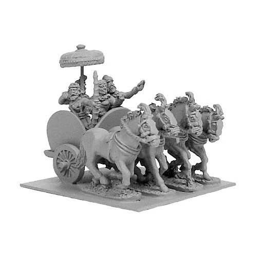 Indian General's Horse Chariot w/ Crew