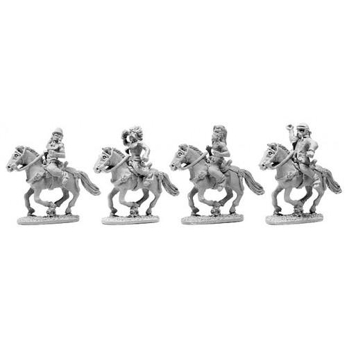 Gallic Unarmoured Cavalry with Shields