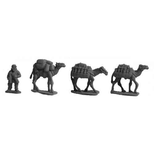Parthian Baggage Camels
